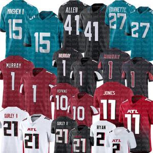 15 Gardner Minshew II 41 Josh Allen Jersey 1 Kyler Murray 10 Deandre Hopkins Jersey 11 Julio Jones 21 Todd Gurley II 2 Matt Ryan Futbol
