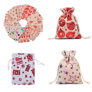 Christmas 0 Cloth Bag Ornaments Ball Candy Bags Baubles Stars 8rh2 Colorful 2020 Snowflake Personalized Gift Claus Santa Bird Pouch Elk Ovad