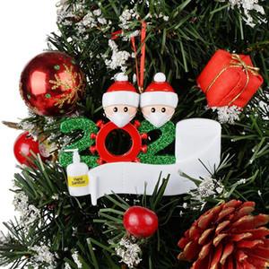 DHL 2020 Quarantine Weihnachten Geburtstage Partei-Dekoration Geschenk Produkt Personalisierte Familie Ornament Pandemic Social Distanzierung Weihnachtsbaum