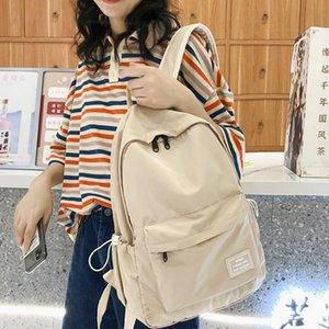 Diehe Marke Einfacher Nylon Frauen Rucksack Weiblicher Student Schultasche Rucksäcke für Teenager Boy Reisetaschen Mochilas