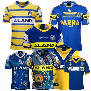 Top Nuovi 1982 Jersey 2018 2019 2020 2021 MANLY Parramatta Eels di rugby maglie Rugby League 19 20 21 camicie