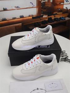 talien neue rote Männer Casual Komfortschuhe britischer Leder glänzenden Lackfreizeitschuh der Männer und Mesh atmungsaktive Schuhe Schuhe 38-45