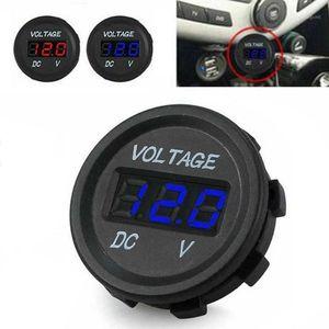 LED DC Voltmeter Автомобиль Мотоцикл Светодиодная панель Цифровое напряжение DC 5V-48V Метаметр автомобиля Отображение Вольтметра Водонепроницаемый вольт Tester1