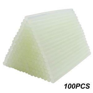 100pcs Hot Melt Glue Sticks 7x180mm For Craft Transparent Electric Glue Gun Product Repair Tool Accessories Car #T1G