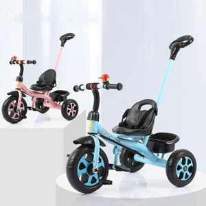 Wholesale children's tricycle 1-3-2-6 years old baby hand push bicycle bicycle children's bicycle children's toys