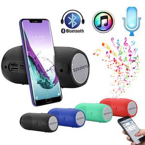 2020 Popular Hot # H25 Portátil Bluetooth Bluetooth Estéreo SD Tarjeta FM Altavoz al aire libre para teléfonos inteligentes Tablet PC Venta al por mayor