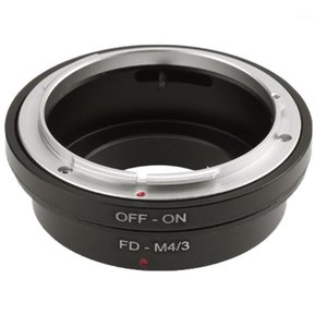 High FD- 3 Ring Manual Metal Mount Lens Adapter for FD To  3 Professional1