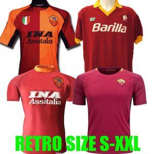 2017 2018 Retro Roma Futebol 00 01 02 89 90 17 18 Giannini Totti Voller Batistuta Nakata Nela Vintage Conti Football RANKING clássico