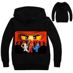 Garçons Outwear Ninja Ninjago Sweats à Hoodies Cartoon Ninjago Costumes Vêtements T-shirts Sweat-shirts pour enfants pour garçons Enfants Tops 201117