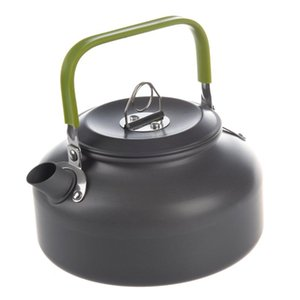 Electric Kettles SANQ 0.8L Portable Ultra-light Outdoor Hiking Camping Survival Water Kettle Teapot Coffee Pot Anodised Aluminum