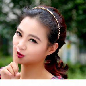 New Boho Headbands Women Colorful Crystal Rhinestone Bohemian Hair Head band Fashion Accessory Jewelry hot sale