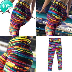 40# Christmas Sexy Women High Waist Fitness Leggings Running Gym Stretch Sports Pants 6OIQ