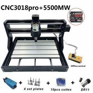 DIY o1nQ için # Yükseltildi Mini CNC3018 Lazer Kazıma Makinesi 5500mw 2500mw 500mW Ahşap Router PCB Freze DIY Mini Ahşap Oymacılığı Makinası