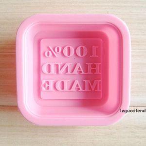 Mold Soap 3D Square Shape Design Hand Made DIY Silicone Mold Fondant Cake Decorating Tools Soap Make