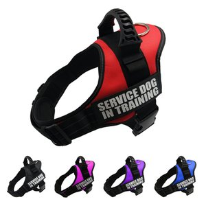 Harness For Dogs Reflective Adjustable Pet Dog HarnesseVest Dog Collar For Husky Shepherd Small Medium Large Dogs Supplies