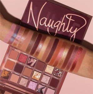NewUp Makeup Palette Naughty Nude 18Colors Eyeshadow Shimmer Mate 18 Colors Paleta de ojos Paleta de alta calidad