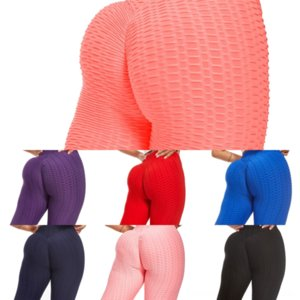 G80Q Womens Yoga Pantalon Fitness Formation Souffe de Yoga Coup de couture Pantalon à rayures Pour High Bootcut Tall Tall Femme Femme Sport Diagonale Taille
