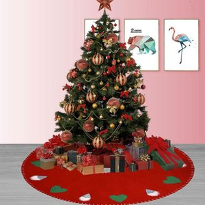 Christmas Tree Skirts Xmas Tree Decorations Ornaments For Home Check Skirt Carpet