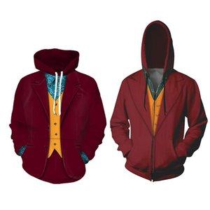 جوكر مصممين هوديس الرجال جوكر فليك فينيكس 2020 ملابس تأثيري جاكيتات joaquin جاكيتات آرثر زي البلوز المرأة HQOVL