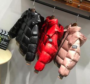 Çocuk Giyim için marka Boys Palto Kış Ceket Çocuklar Down Coat Su geçirmez snowsuit Ceketler Kapşonlu parka Kızlar Çift taraflı Coats