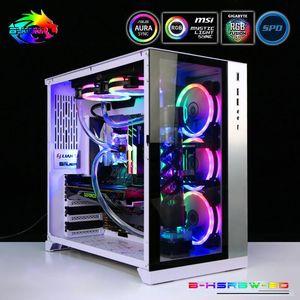 Bykski Узел водяного охлаждения Kit CPU + GPU MOD охлаждения Программа для Soft НКТ 5V RBW освещение