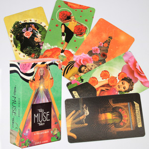 The Muse Tarot A 78-Card Deck E-Guidebook Divination Wildly the Muse within Toy Game Holiday Family Party Table Game Enterminmen