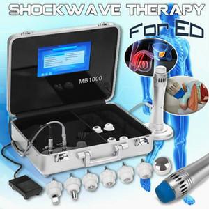Ganhewave Equipamento de terapia de ondas porfissionais com dor CE Dor corpo, ruptura de onda de ondas de choque Massagem de alívio da dor nas costas