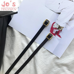 PU Leather Casual Women's Belt Korean Ladies Belt Of Dresses And Pants 100 Cm New Solid Belts