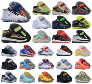 Navire rapide NOUVEAU 2020 Kevin 13 XIII DURANT KD 13S MEN MULTI-COUVERTS KD13 Baskets Zoom Basketball Chaussures Elite Sport Sneakers US 7-12