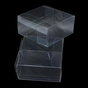 Wholesale Transparent Waterproof Clear Pvc Boxes Packaging Small Plastic Box Storage For Jewelry Candy Toys Clear Display Box H bbyQdF