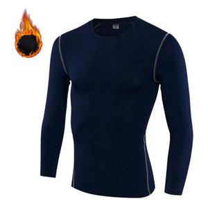 New Autumn Winter Thermal Underwear Shirt Men Fleece Baselayer Thermo Pajamas Sleepwear Home Warmer Casual Wear Plus Size