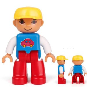 Big Compatible For Sister Toys Size Brother Family Figures Children Mom Joker Doctor Locking Building Kits Figure Duplo wmtEZu xhlove