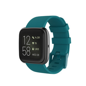 Fitbit Versa 2 Dual Color Buckle Sports Silicone Strap Versa Lite Smart Watch Replacement Wristband A watch that can be used by adults and c