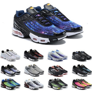 Blue Star Plus III Running Shoes Tn 3 Chaussures Triple White Black Hyper Green OG USA Neon Mens Trainers Sports Sneakers