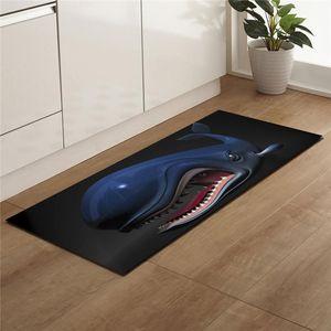 Cartoon 3D Print Long Kitchen Mat Bath Carpet Floor Mat Home Entrance Doormat Tapete Absorbent Washable Rug Outdoor Corridor