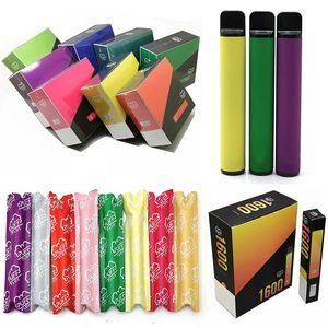 Neueste 80+ Farben Puff Bar Plus 800Pepps Einweg-Vape 510 Fadenverdampfer Pods E-Zigaretten 800Pepps Max Flow Puff Plus