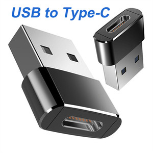 New Type C Female to USB 3.0 Type A Male Port OTG Converter Adapter for iPhone 12 11 Pro Max Cable