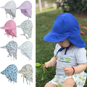 UV Protection Sun Hats Breathable Baby Kids Boy Girl Unisex Bucket Hats Summer Newborn Sunbonnet Hats Bebe Sun Hat Caps