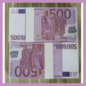 25 Cross-border hot-selling simulation Euro toy coin shooting props US dollar practice banknotes bar game tokens 200 pieces fake prop money