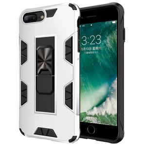 Cas de téléphone mobile sergent avec support invisible approprié pour iPhone7 / 8 x XS XR 11 Pro Téléphone de téléphone mobile Porte-voiture Porte-personne mobile