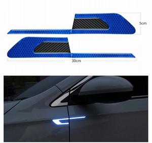 2ST pro Satz Auto Reflektierende Warnband Auto-Autosicherheitsreflexstreifen Sichere Reflektor-Aufkleber-Abziehbilder
