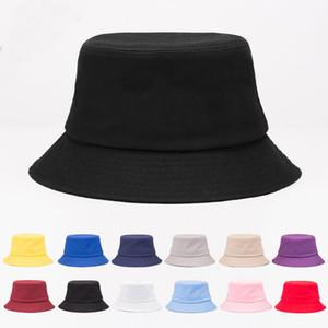 8 colores Cubo Sombrero Hombre Mujeres Cubo Moda Moda Playa Playa Papá Pescador Sombreros Ponillo de Ponillo Béisbol Gorras Sombreros Snapback Party Hat HH9-3732