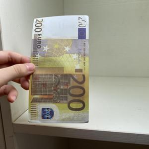 10 20 50 100 200 500 accesorios Dólar Fake Money Simulation Euro Fake Billet Banknote Película Shooting Props Dólar juego Token juego Token Regalos EUR