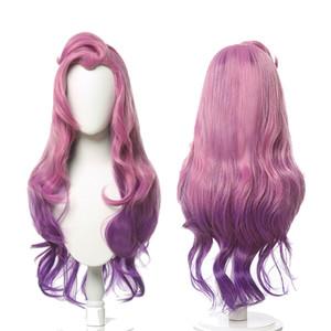 KDA Baddest Seraphine Cosplay Wig Mix Mix Hair