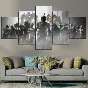 Home Decor Плакат HD Pictures Печать холст 5 шт Dead Space 2 3 Hot Видеоигры Гостиная Искусство Декоративные Обрамлено IOz1 #