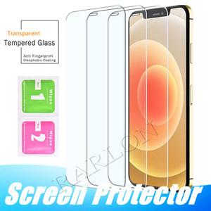 2.5D Vorderseite gehärtetes Glas für IPhone 12 Mini 12Pro 11 Pro max XR XS MAX X 8 Plus Displayschutzfolie Schutzfolie Transparent Ohne Packag