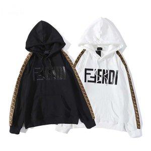 20ss Mens Designer solto Moletons alta qualidade para os homens e mulheres Hoodies Jacket Preto Branco cores Tamanho S-3XL HYG