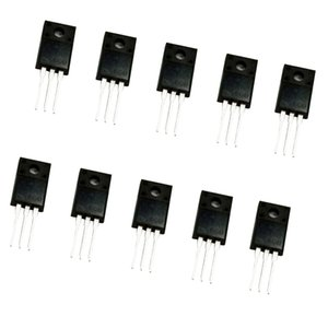 10PCS 2A 600V-MOSFET-Feldeffekttransistor TO-220F 2N60 Leistung N-Kanal