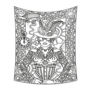 16 Designs tapestry Euramerican divination astrology printing wall hanging decoration tablecloth yoga mat beach towel party backdrop 177 G2
