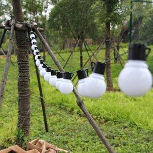 20 Led Outdoor Solar Lamps Led Globe Ball String Fairy Light Solar Light Christmas Garland Waterproof Garden Street Decor Light sqcvGm